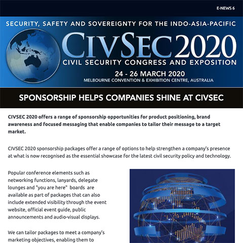 CivSec 2020 - International Civil Security Congress & Exposition